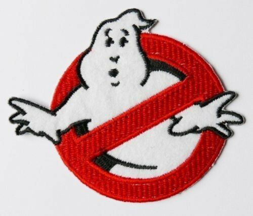 Sew-on Iron-on Embroidered Patch Ghostbuster Badge Fancy Dress Ghost Buster