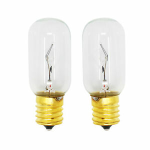 2-pack Light Bulb For Lg Lmv1683st, Lmv1813st, Lmv2031sb, Lmv1683sb, Lmv1831sw Calcul Minutieux Et BudgéTisation Stricte