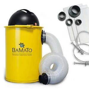 BAMATO Absauganlage AB-110 inkl. Adapter Set Absaugung Späneabsaugung