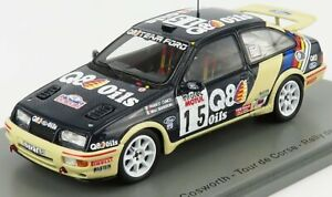 SPARK-MODEL 1/43 FORD ENGLAND   SIERRA RS COSWORTH N 15 RALLY TOUR DE CORSE 1...
