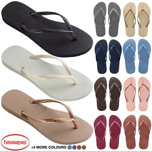 47ce83bb57c1 Original Havaianas Slim Flip Flops - Women - 15 Colours - UK Size 3 ...