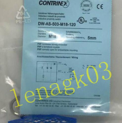 Original CONTRINEX DW-AS-503-M18-120 DWAS503M18120 PROXIMITY SWITCH