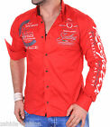 Camisa De Manga Larga Para Hombre Camiseta Slim Fit Club Yachting Polo S,M,L,XL
