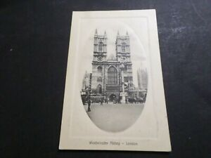 CPA-LONDRE-Royaume-Uni-WESTMISTER-ABBEY-en-relief-voyage-1910-VF-LONDON-PC