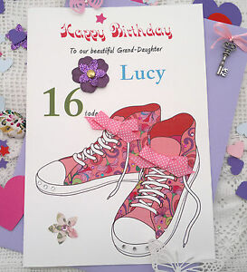 Image Is Loading Large Handmade Personalised 15th 16th 17th 18th 21st