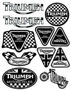 Set-11-Vinile-Adesivi-Triumph-Speed-Triple-UK-Vinyl-Sticker-Auto-Moto-Casco-Bici