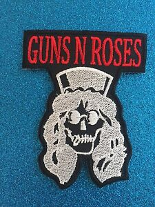 GUNNERS-Retro-Band-Music-Round-Inconic-Stitched-Iron-ON-Patch-Patches