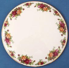 VINTAGE ROYAL ALBERT OLD COUNTRY ROSES CAKE GATEAU PLATE BAKING TEAPARTY WEDDING
