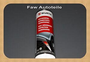 1-x-Wurth-SaBesto-WAX-protezione-pavimento-TRASPARENTE-waxunterbodenschutz