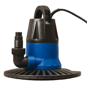 Details about Blue 1,250-Gallon Clog Resistant Plug-In Swimming Pool Cover  Pumps and Drains