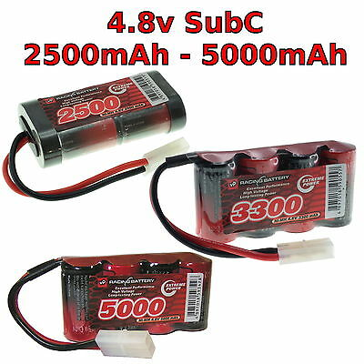 4.8V 3300mAh SC battery pack For Radio Control Car 4x1