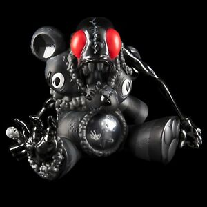 Kidrobot-Black-DigesTED-by-KidRobot-X-Alex-Pardee-New-Sealed-in-Box