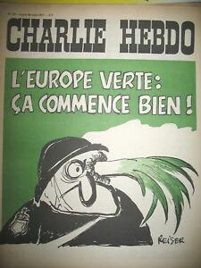 CHARLIE-HEBDO-N-19-L-039-EUROPE-VERTE-CRS-ECOLOGIE-DESSINS-REISER-CABU-GeBe-1971