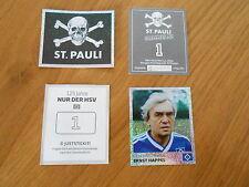 Panini St. Pauli sammeln; Nur der HSV;  10 Sticker aussuchen, NEUE BILDER