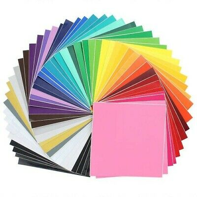 """64 12/"""" X 24/"""" Sheets 0f Oracal 651 Permanent Adhesive backed Vinyl for crafting"""