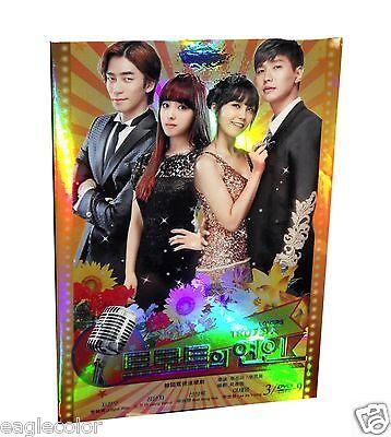 Trot Lovers Korean Drama (3DVDs) High Quality - Box Set!
