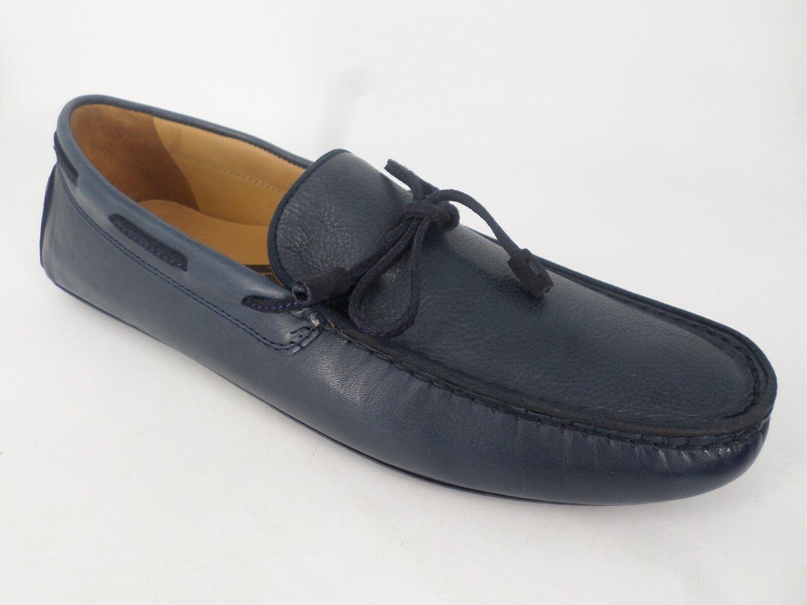 Massimo Dutti KIOWA LAZO Blu Pelle Scarpe EU 45 LN17 71 Scarpe classiche da uomo