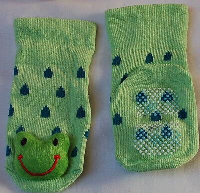 Kindersocken mit Cartoons Stoppersocken Babysocken 3D-Sticker Antirutschsocken