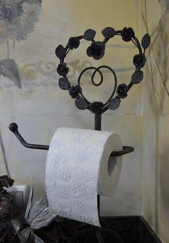 Toilettenpapierhalter Herzen Metall Rollenhalter Papierhalter Französischer Stil