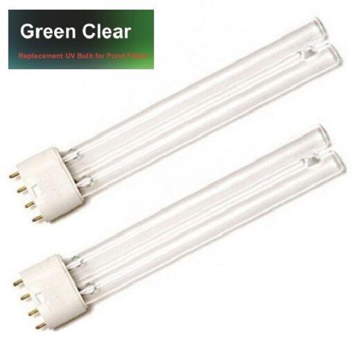 TWIN PACK 24W 24 WATT PLL POND FILTER UV//UVC BULB//LIGHT//TUBE//LAMP ULTRA-VIOLET
