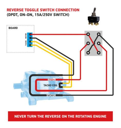 TDA1085C universal motor controller /& reverse Assembled PCB 80*80mm 1pc