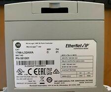 Allen Bradley 1766 L32awa Controller 20 Digital Inputs 12 Relay Op