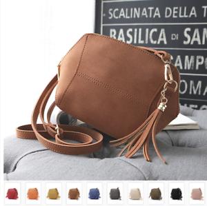 8cd24e7b5eae Image is loading Fashion-Women-Leather-Satchel-Handbag-Shoulder-Tote- Messenger-
