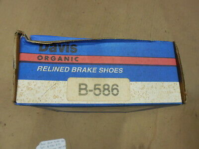B586 NJA BRAKE 85-90 CHEVROLET SPRINT SUZUKI FORSA 586RP  REAR BRAKE SHOES
