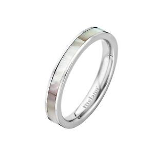 MelanO Vorsteckring Beisteck schmaler Ring mit Stein Mini Größe 56 FR24SS