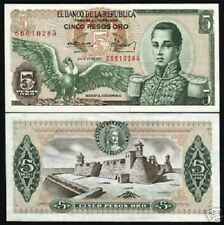 URUGUAY 5 PESOS P-80 1998 x 100 Pcs FULL BUNDLE JTG PAINTING UNC LOT BANK NOTE