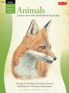 Animals-in-Colored-Pencil-Drawing-Learn-to-Draw-Step-by-Step-How-to-Draw-and