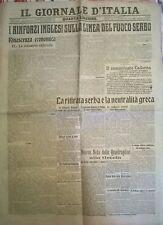 IL GIORNALE D'IT. 28/12/1915 I RINFORZI INGLESI SULLA LINEA DEL FUOCO SERBO 763