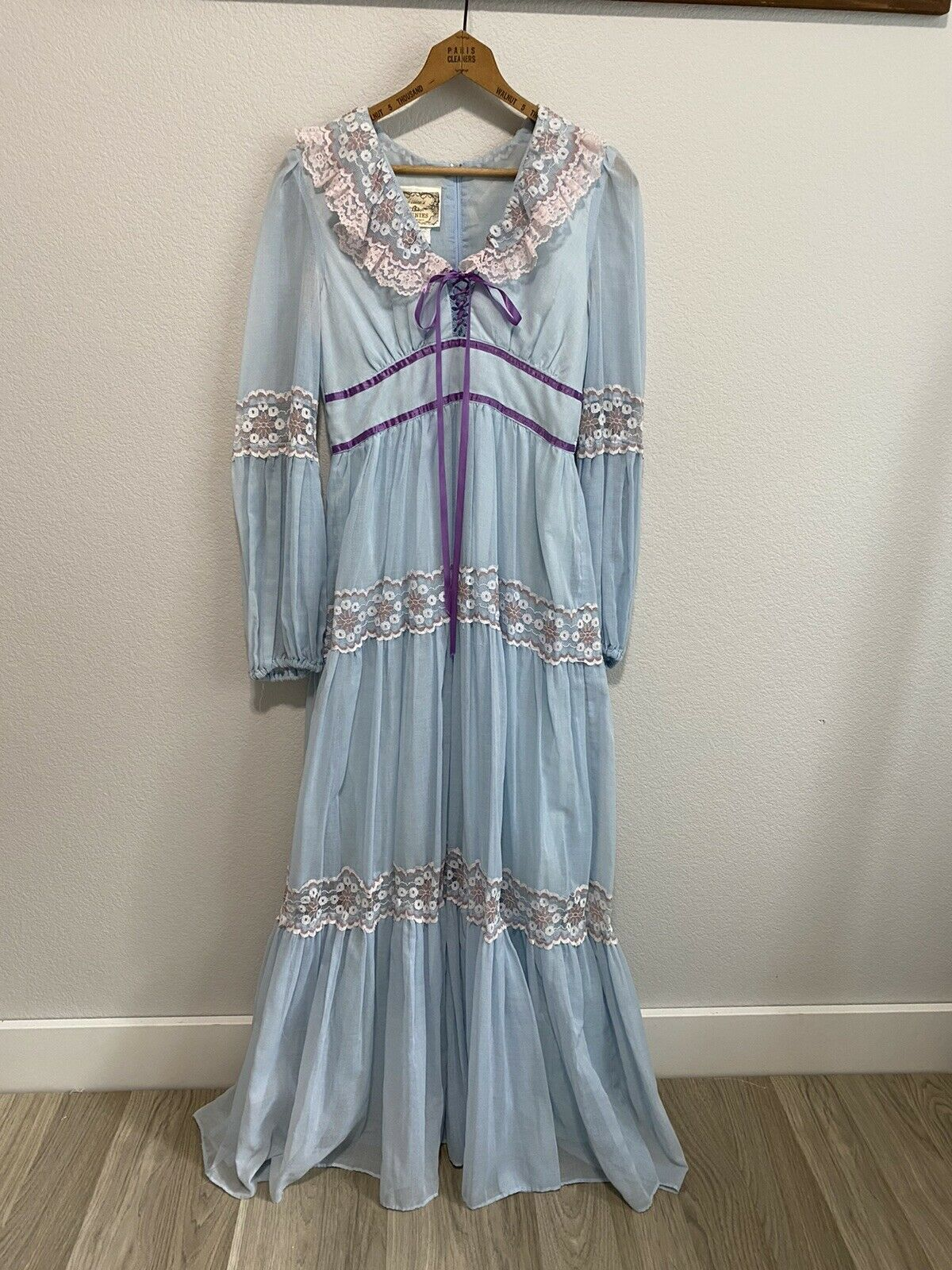 Vintage Gunne Sax Cottagecore Dress Size 11 - image 1