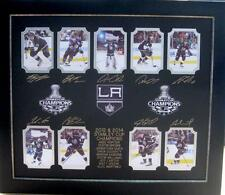 LA Kings 2012 & 2014 Engraved Collage Lot 2113531