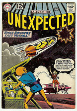 Tales of the Unexpected #72 (DC 1962, fn 6.0) guide value: $30.00 (£19.50)