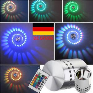 3W-AGM-LED-Wandlampe-Wandleuchte-Innen-Effekt-Lampe-Licht-Flurlampe-Treppenlampe