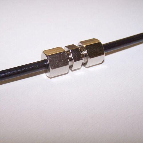 Bremsleitungsverbinder Bremsleitung Verbinder 20 Stück ohne zu bördeln Ø 4,75 mm