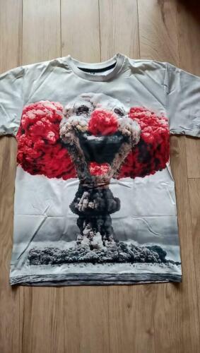 Résolution Taille S-XXL Nouveau Atomic Clown Bomb T-Shirt Spar 50/%