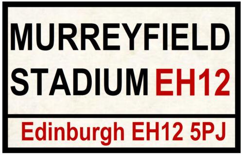 Rugby Murreyfield - Spaß Souvenir Neuheit Straßen Straßenschilder