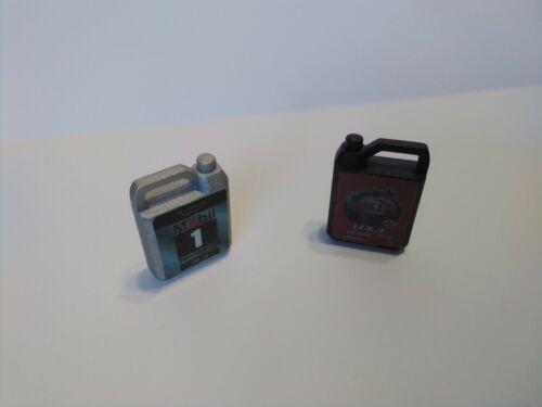 2Pcs 1 black 1 silver rc rock crawler 1:10 accessories mini oil containers