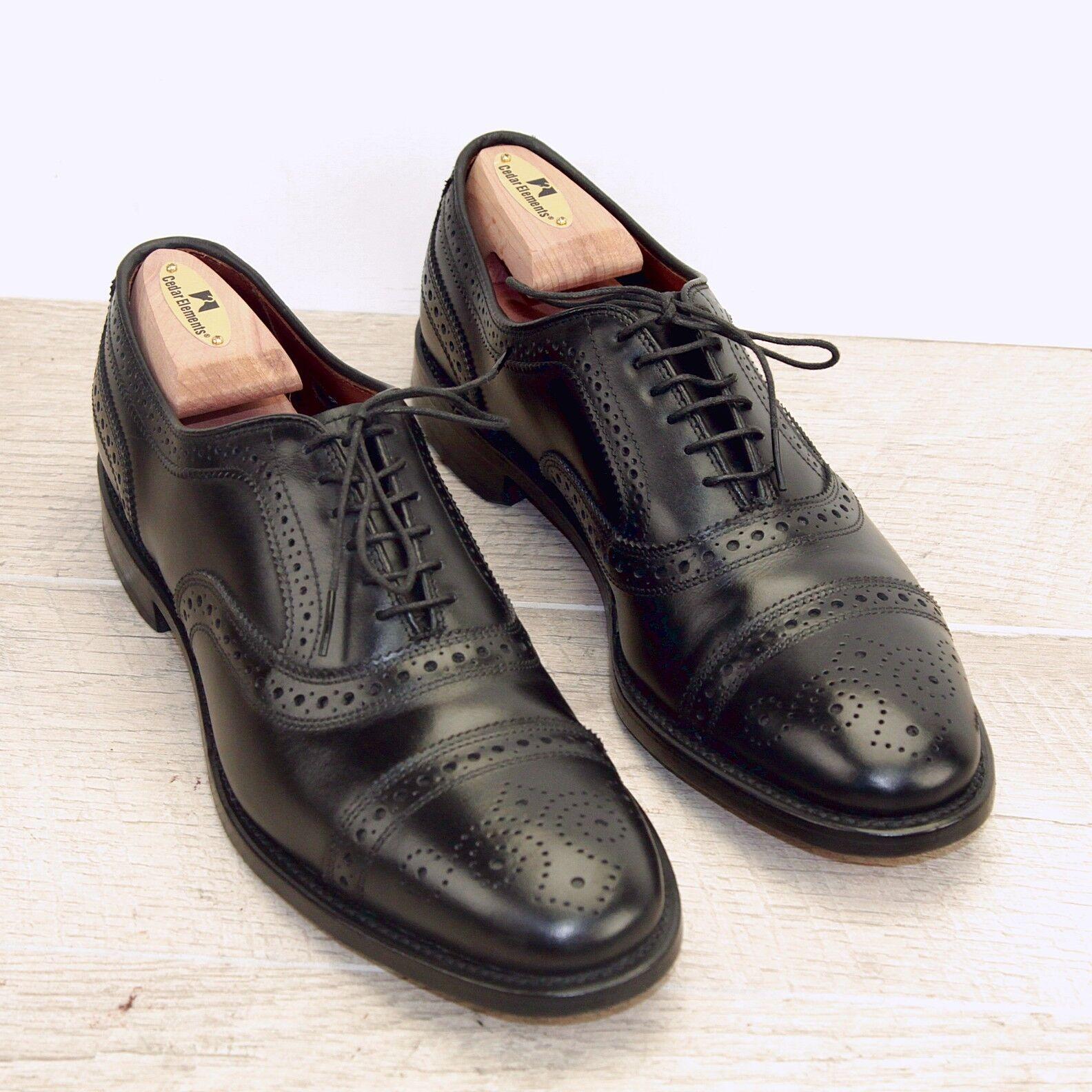 Allen Edmonds STRAND 9.5 A noir  nouveau AE Sacs (Ajoutez 15   Nouvelle Chaussure arbres)