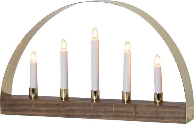 Weihnachtsbeleuchtung Lichterbogen.Lichterbogen Noble Weihnachtsbeleuchtung Holz Modern E10