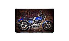 1978 yamaha xs500 Bike Motorcycle A4 Retro Metal Sign Aluminium