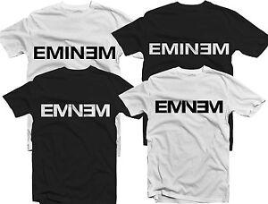 Eminem Logo T shirt Slim Shady Marshall EP LP Hip hop Rap Music Free ... 2c1e4997dc9