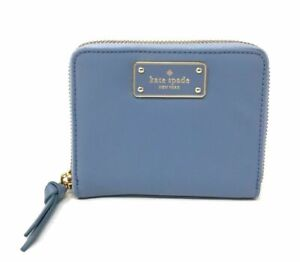 Kate-Spade-Wilson-Road-Darci-Nylon-Bifold-Zip-Wallet-Cloud-Cover-WLRU4898