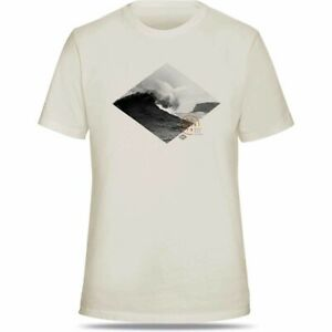 New-2018-Dakine-Mens-Nalu-S-S-T-Shirt-Tee-Large-Cream