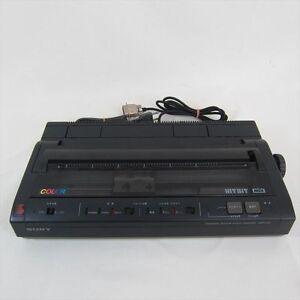 Sony-HIT-BIT-Thermal-Color-Kanji-Printer-msx-hbp-f1c-Import-Japan