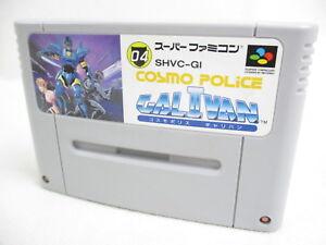 Super-Famicom-Cosmo-Police-GALIVAN-Nintendo-Cartridge-Only-sfc