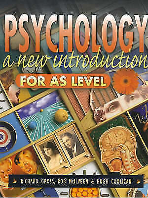 1 of 1 - Psychology: A New Introduction for AS Level, McIlveen, Dr Rob, Coolican, Hugh, G