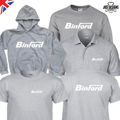 Binford Tools Grey T-shirt Hoodie Hoody Polo Shirt Jumper Vest S-5XL Work Wear